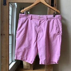 Polo by Ralph Lauren Pink Chambray Shorts